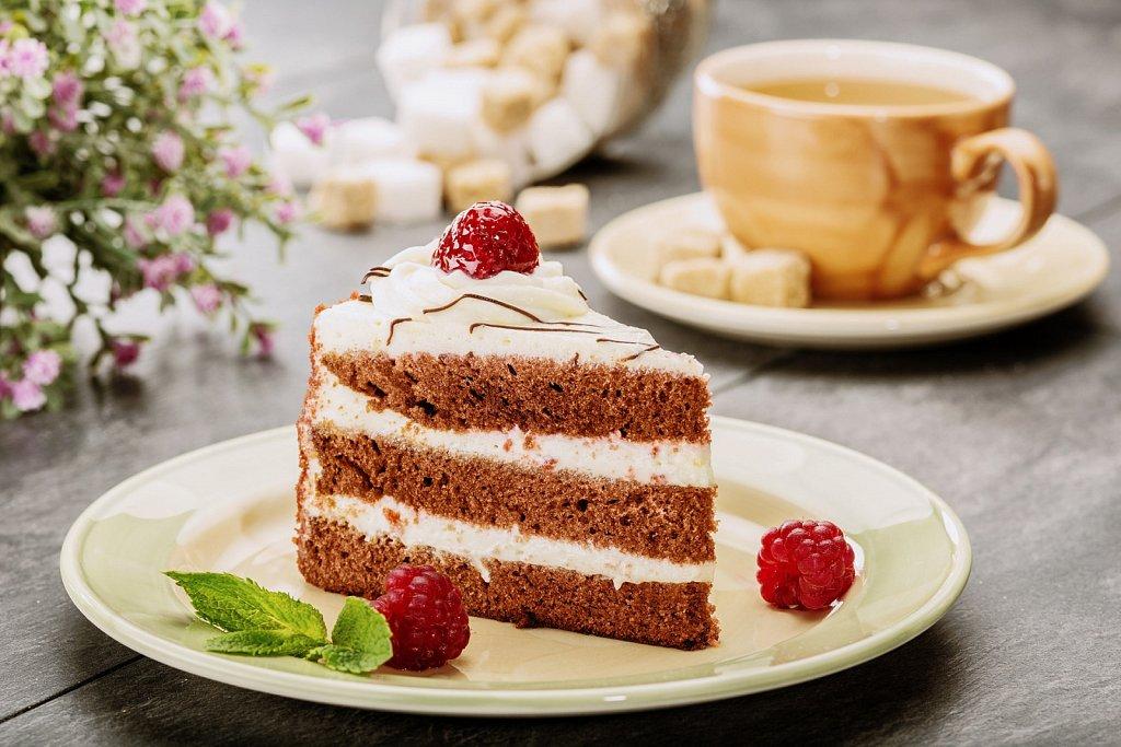Торт. Фуд-фотография