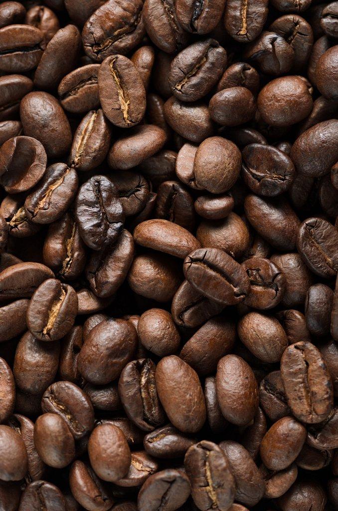 Зерна жареного кофе