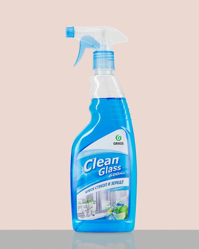 GRASS. Clean Glass